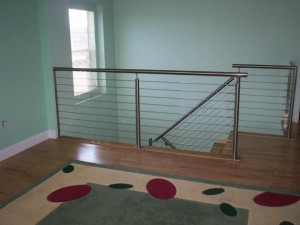 Stainless steel framework and cable